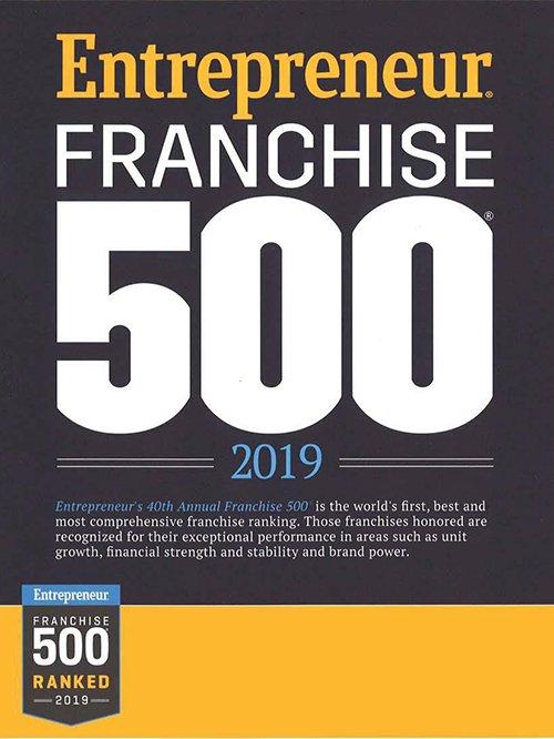 Entreprener Franchise 500 - 2019
