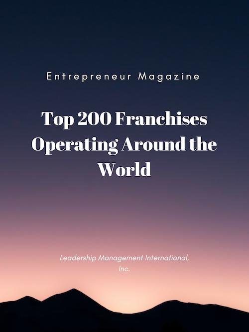 Entrepreneur Magazine - Top 200 Franchises Operating Around the World