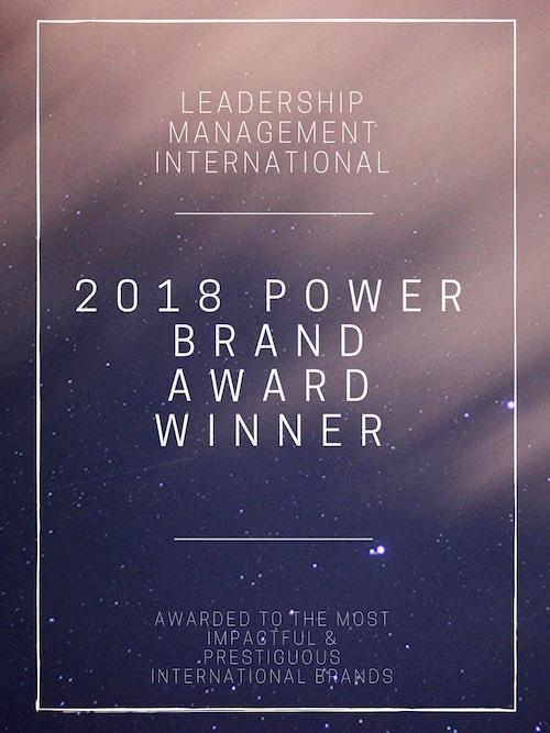 2018 Power Brand Award Winner